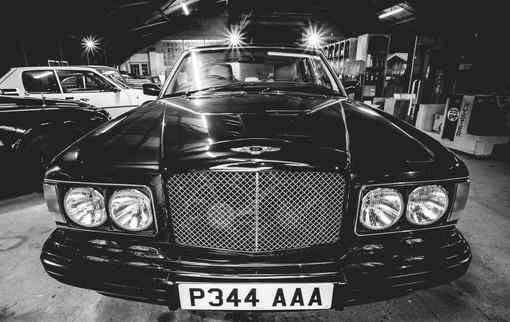 Wedding day Bentley