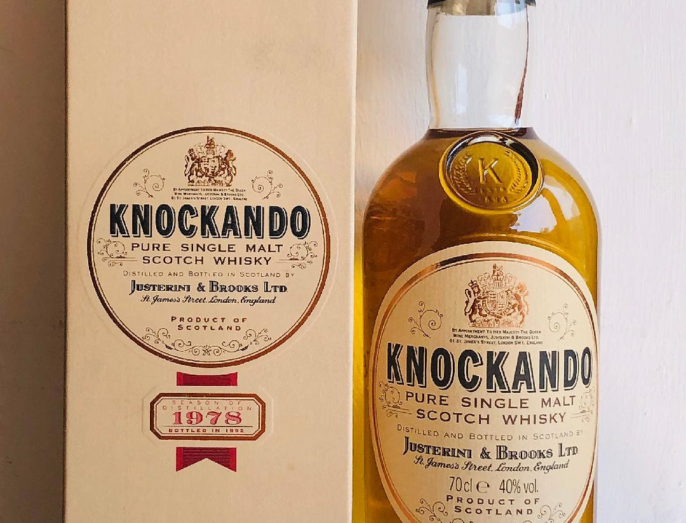 Whisky : Knockando : Single Malt : 1978 : 14 Year Old
