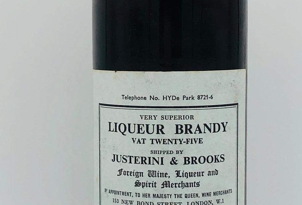 Brandy : Justerini & Brooks Liqueur Brandy