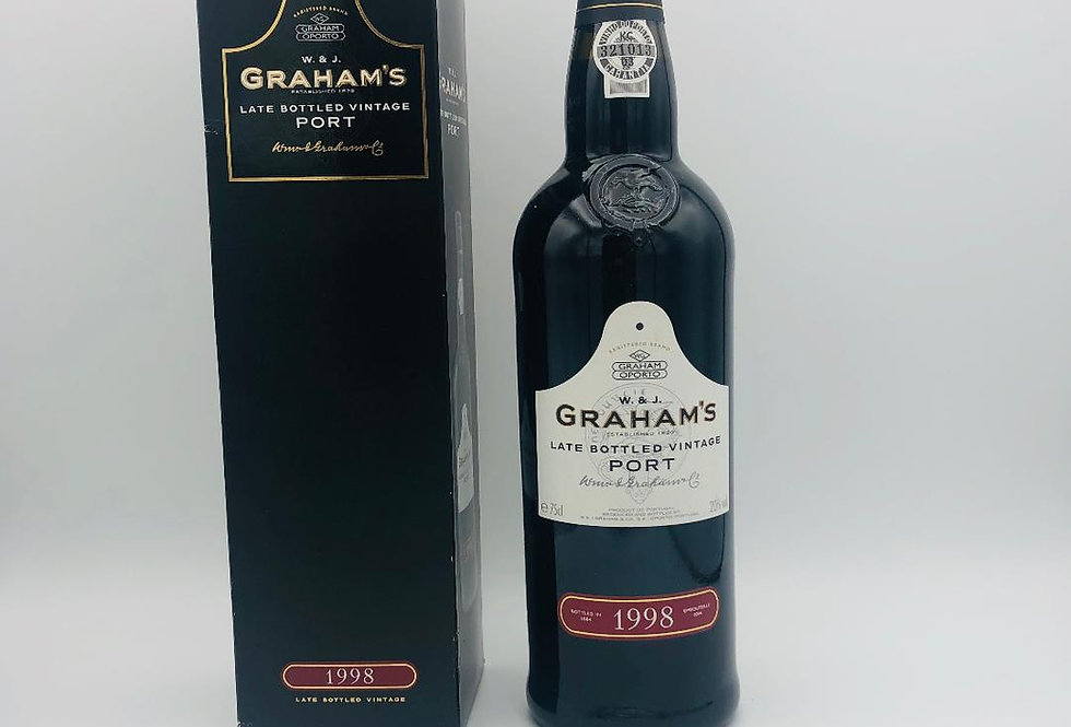 Port : Graham's Port, late bottled Vintage 1998 & bottled 2004