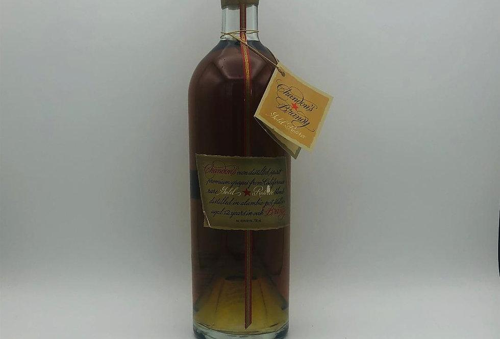 Brandy : Chandon's Brandy Gold Reserve Napa Valley 1980's