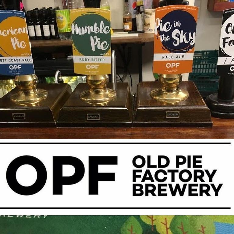 OPF (Old Pie Factory) house beer