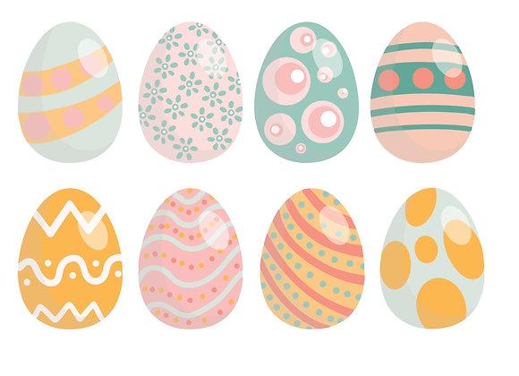 Easter Eggs sticker pack