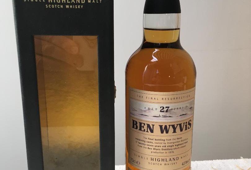 Whisky : Ben Wyvis 1972