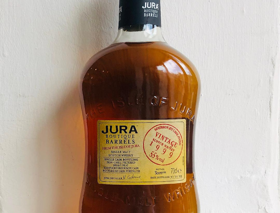 Whisky : Jura 1999 Malt Bourbon Barrels