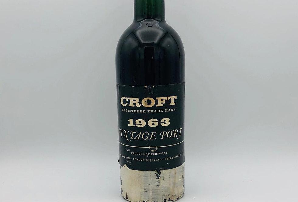 Port : Croft 1963 Vintage Port