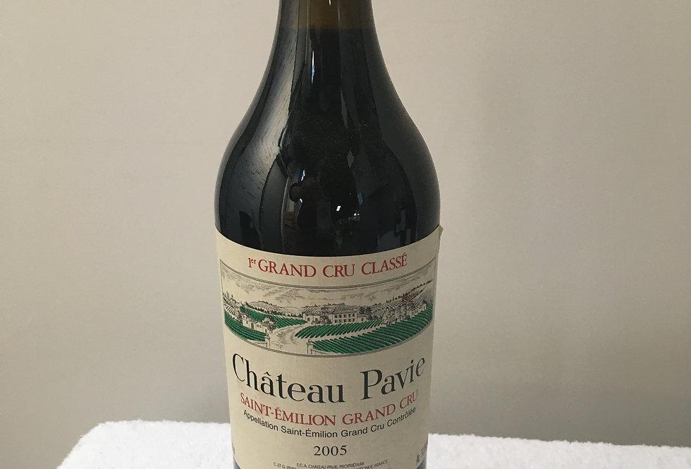 Bordeaux : Chateau Pavie 2005