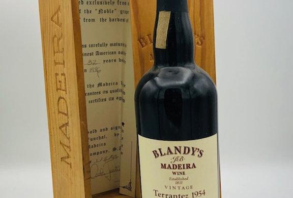 Blandy's Madeira Terrantez 1954