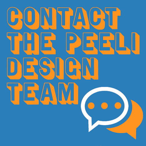 Contact the Peeli design team