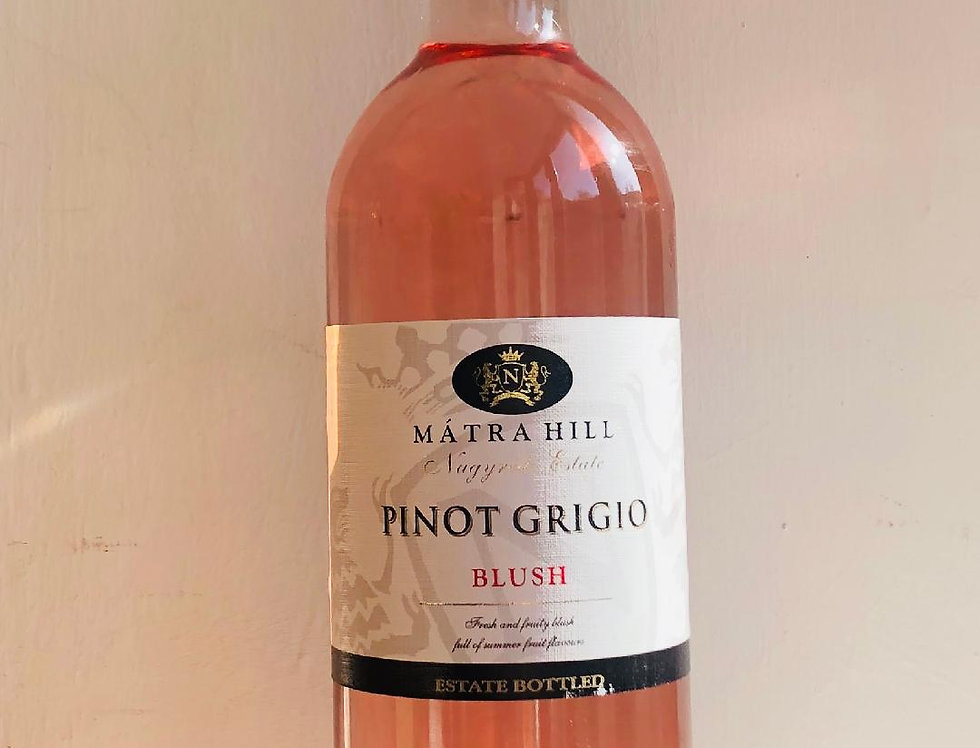 Rose : Pinot Grigio, Matra Hill : Blush