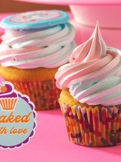Baked with love & cup cakes