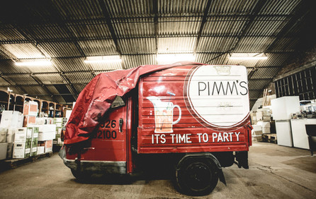 Mr Pimms winter storage