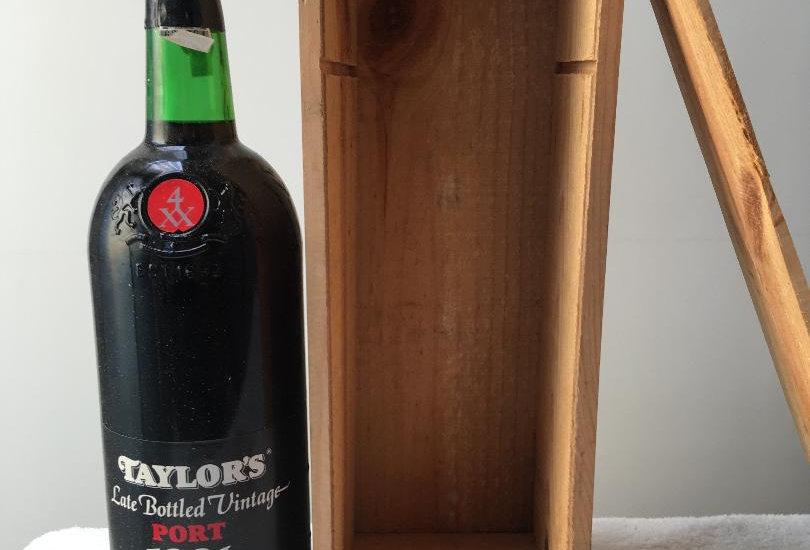 Port : Taylors Vintage Port 1981 : MAGNUM Late Bottled