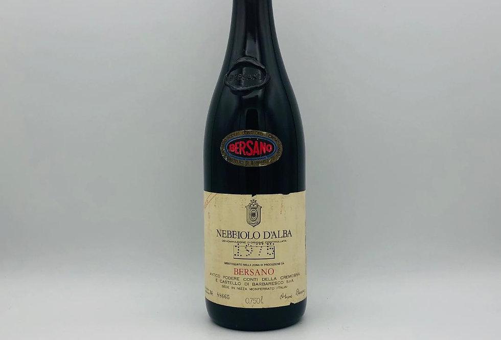 Italian : Nebeiolo D'Alba 1975