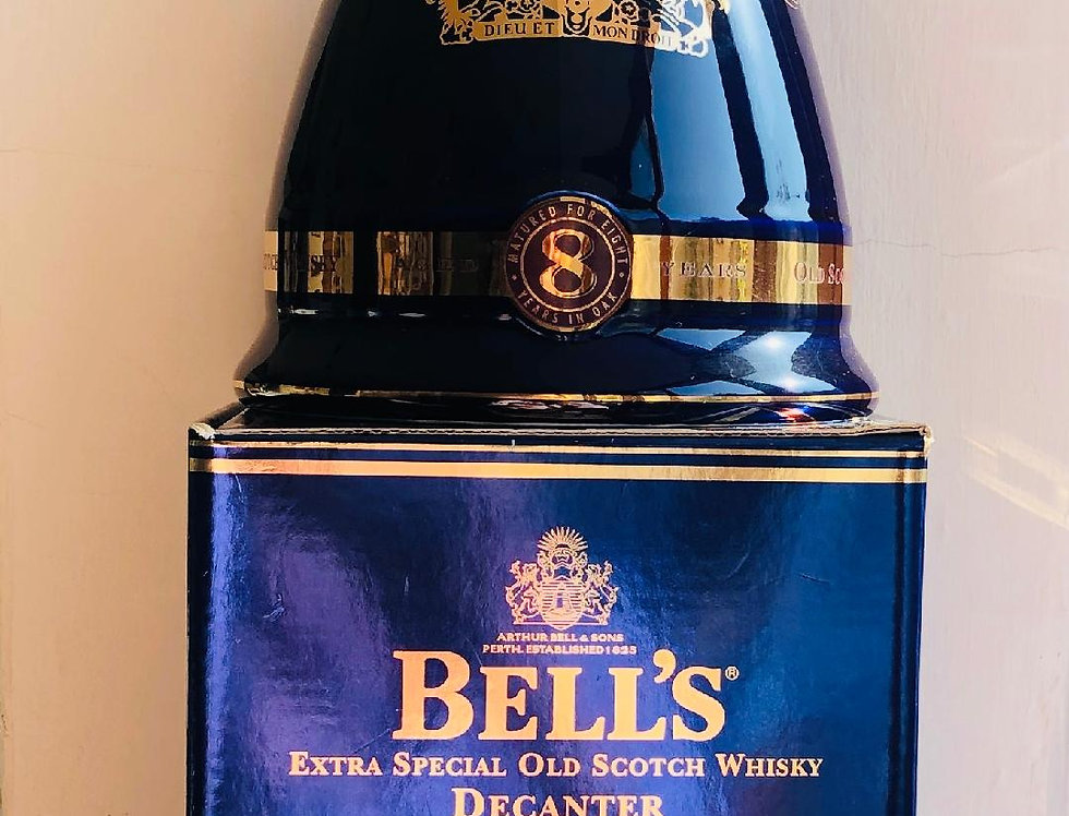 Whisky : Bells 50 years HM Queen Elizabeth II Decanter Limited Edition