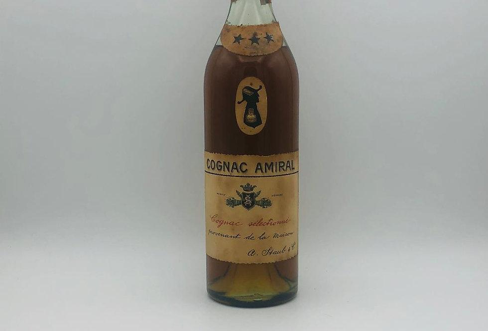 Brandy : Staub & Co Cognac Admiral 1960's 3 Star