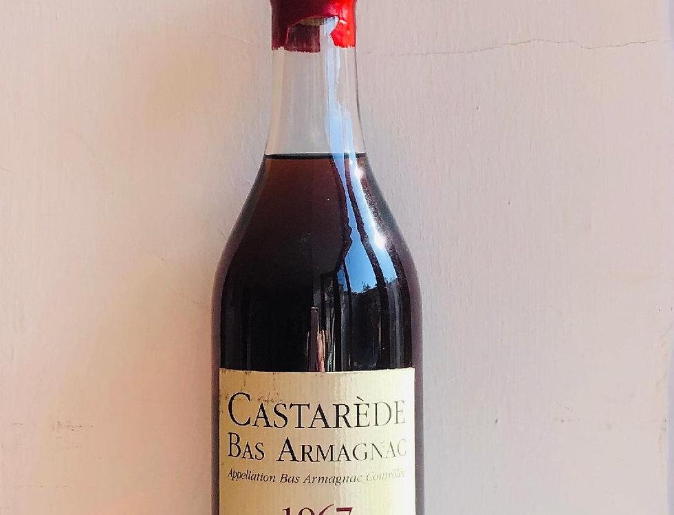 Armagnac Castarede Bas 1967