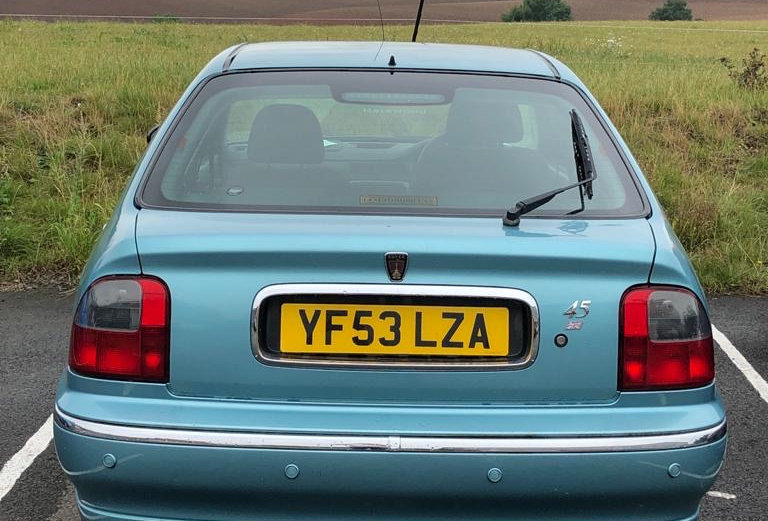 Rover 45 2004 : Outstanding in its field..