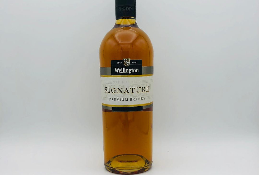 Brandy : Wellington Signature Brandy 1990's Edward Snell