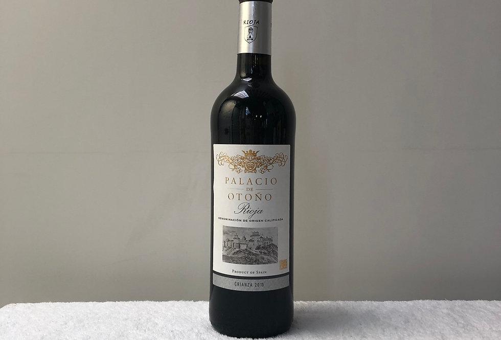 Rioja Crianza 2015 Palacio De Otono. Spain
