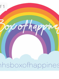 Box of happiness sticker