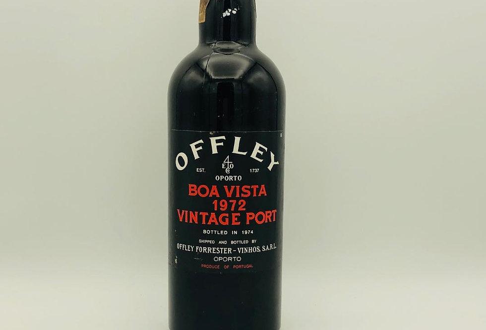Port : Offley Vintage Port 1972 bottled in 1974