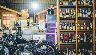 Old & rare bikes & booze