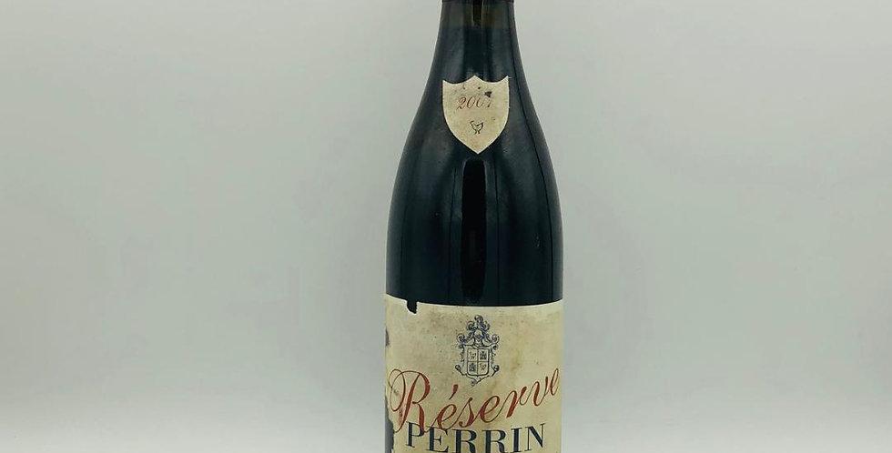 Cotes Du Rhone : Perrin Reserve 2001