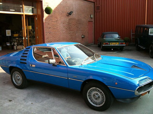 Alfa Romeo's answer to the 70's GT