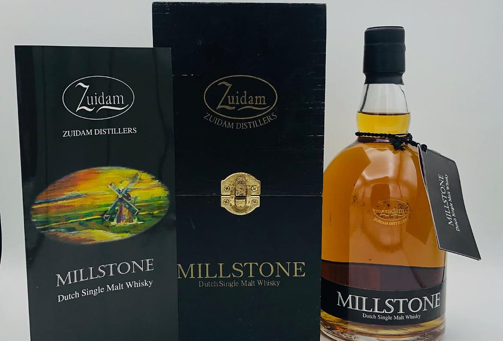 Whisky : Millstone Dutch Single Malt 2002, bottled 2008 Zuidam Distillers