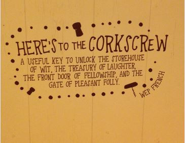 Corkscrew wise words