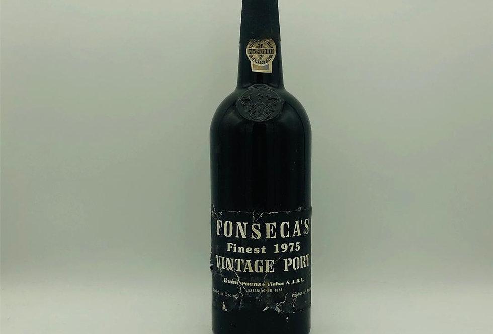 Port : Fonseca's Finest Vintage Port 1975
