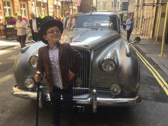 Rolls Royce in St James 50th party