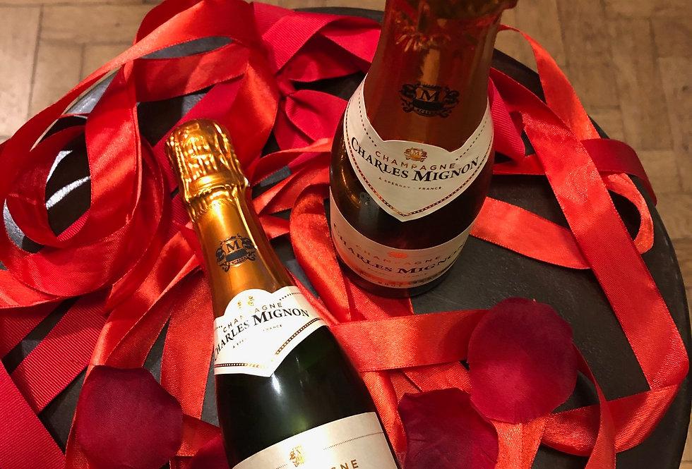 Champagne : Quarter Bottle Charles Mignon Brut