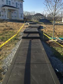 Walkway C&S Concrete Hershey PA 3