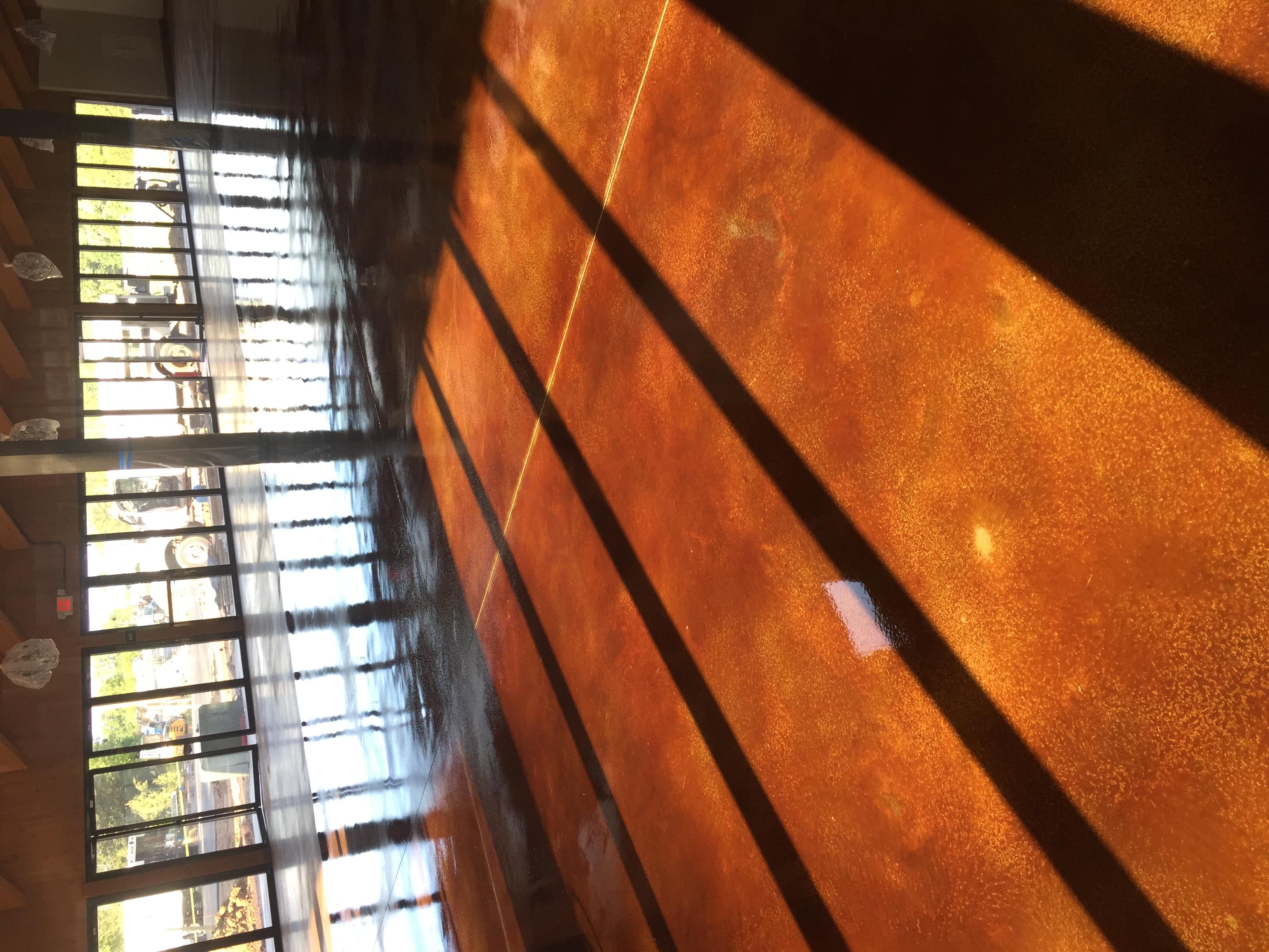 Acid Stain Concrete C&S Concrete Hershey 2