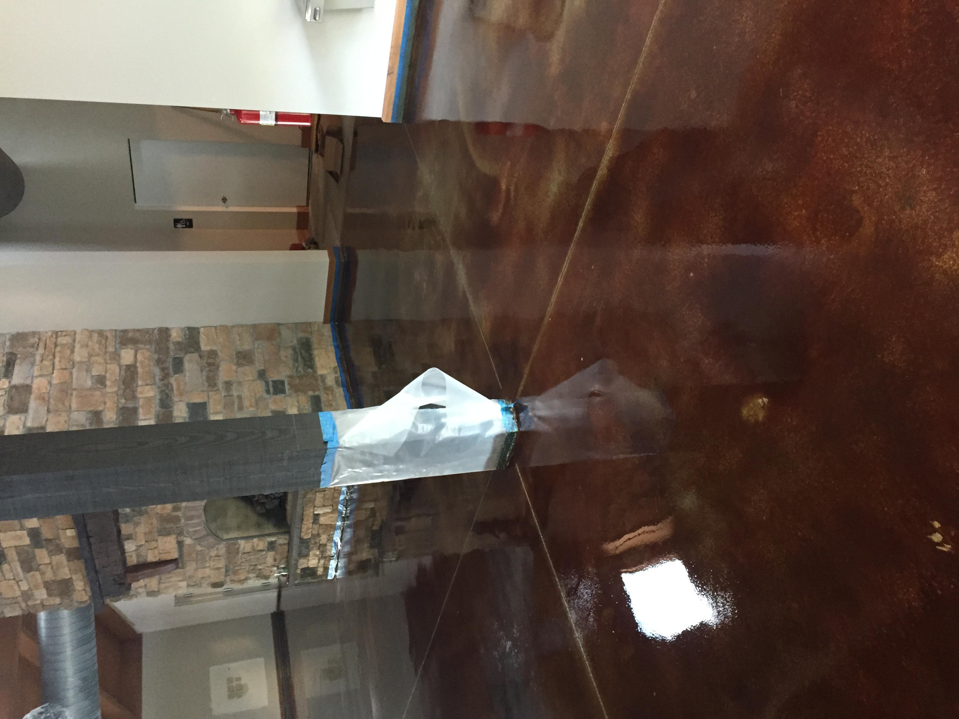 Acid Stain Concrete C&S Concrete Hershey 6