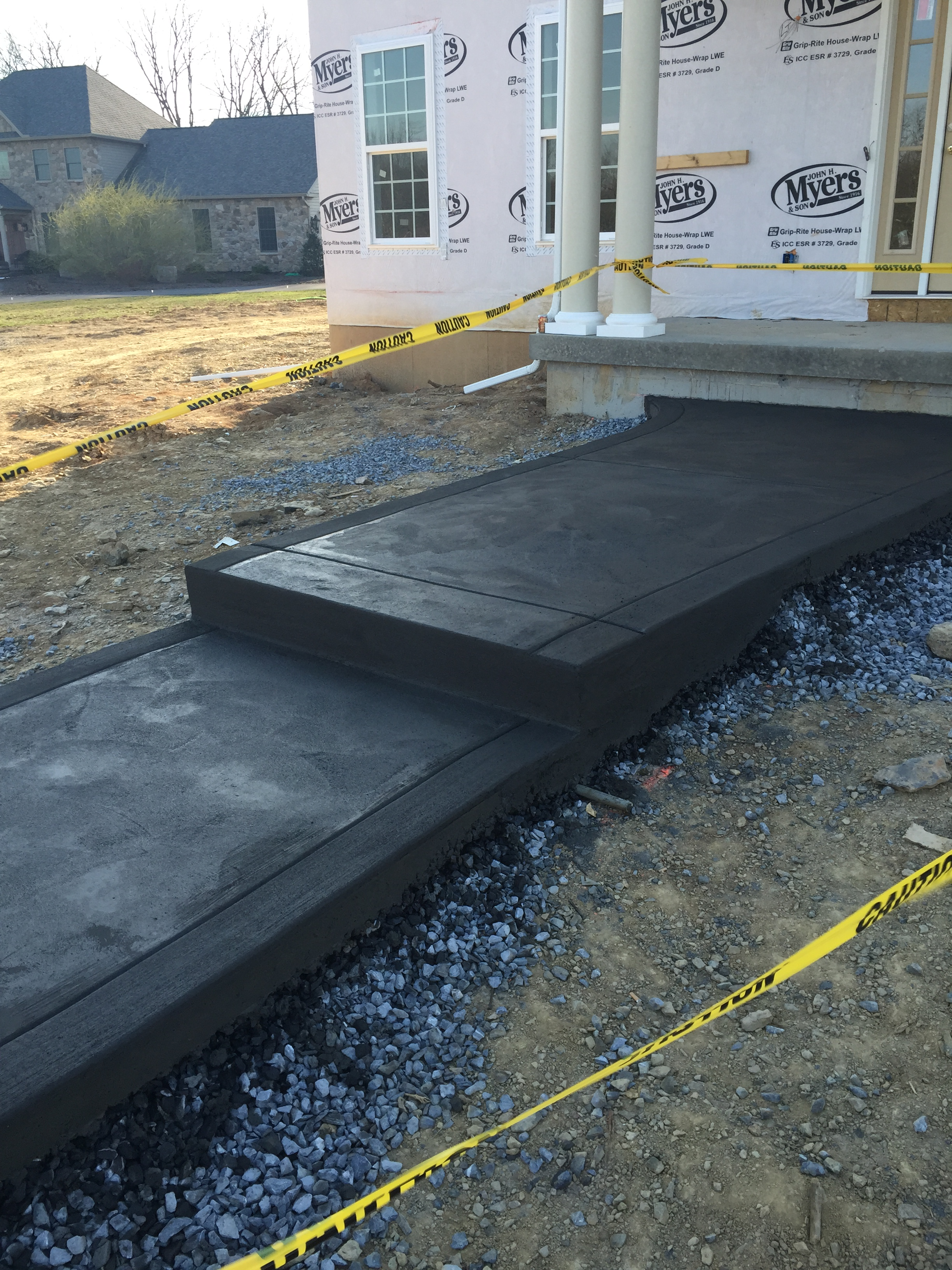 Walkway C&S Concrete Hershey PA