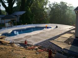 Concrete Pool C&S Concrete Hershey PA