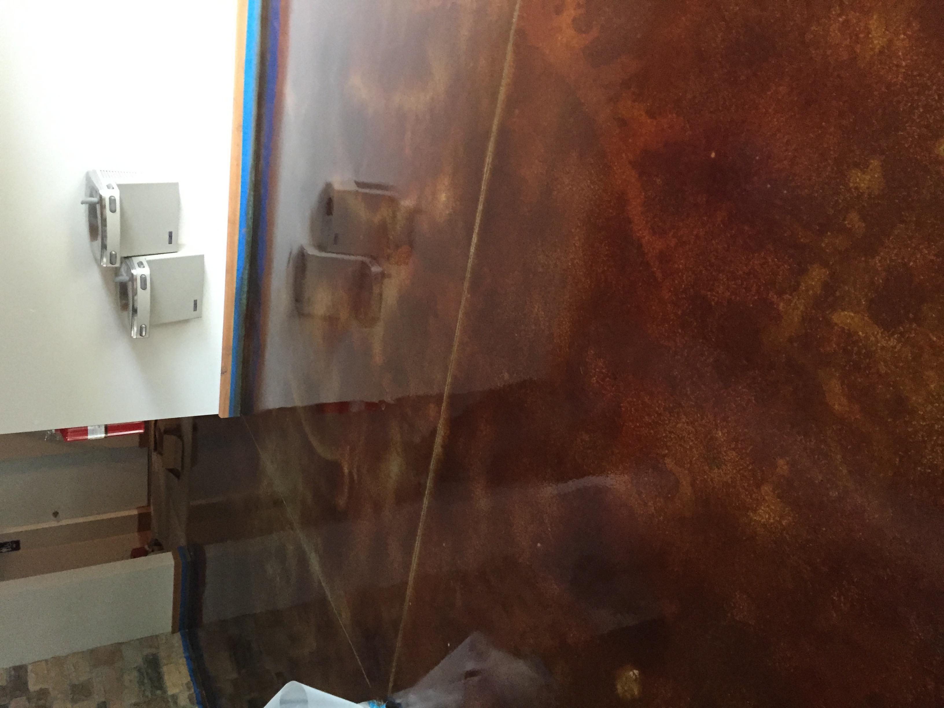 Acid Stain Concrete C&S Concrete Hershey PA 5