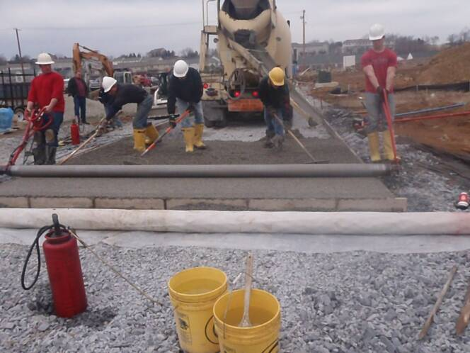 Pervious Concrete C&S Concrete Dauphin County PA