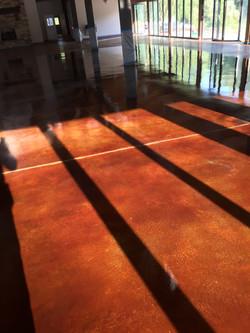 Acid Stain Concrete C&S Concrete Hershey PA 1