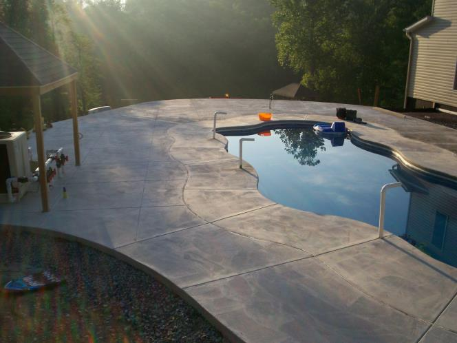 Concrete Pool Hershey PA