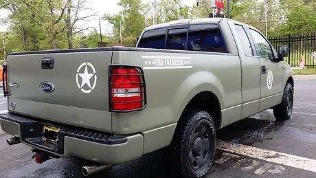 truck, custom wrap, army design, durable, cheap, fast, toms river, new jesey, car wash