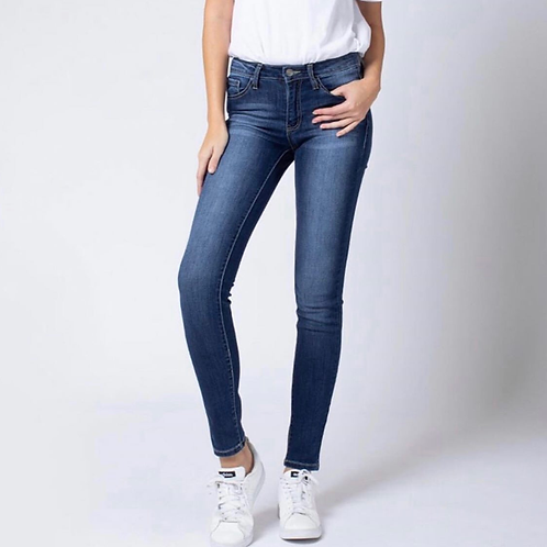 Denim Mid-Rise Jeans