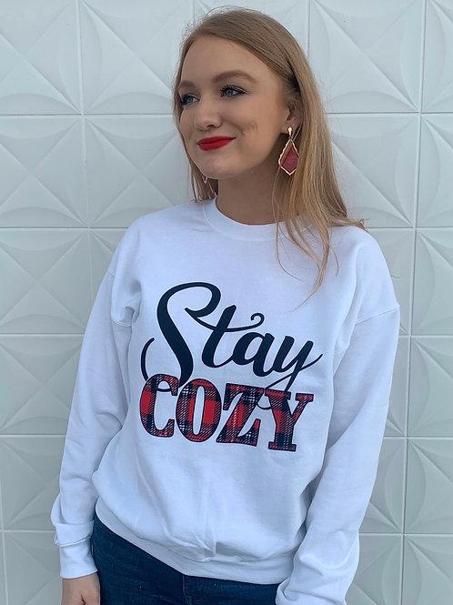 Stay cozy sweatshirt