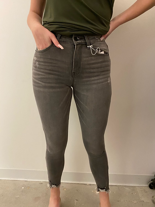 Grey High Rise SkinnyJeans