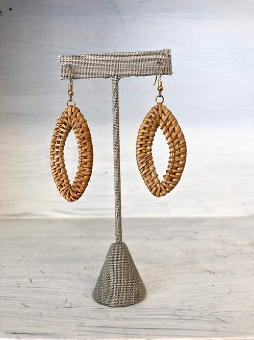 Wicker Diamond Earrings