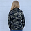 Thumbnail: Camo Oversized Military Jacket Dark