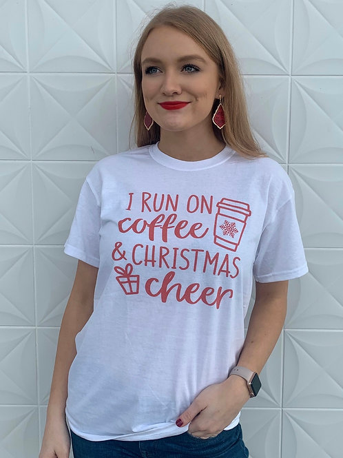 Coffee Christmas cheer Tshirt